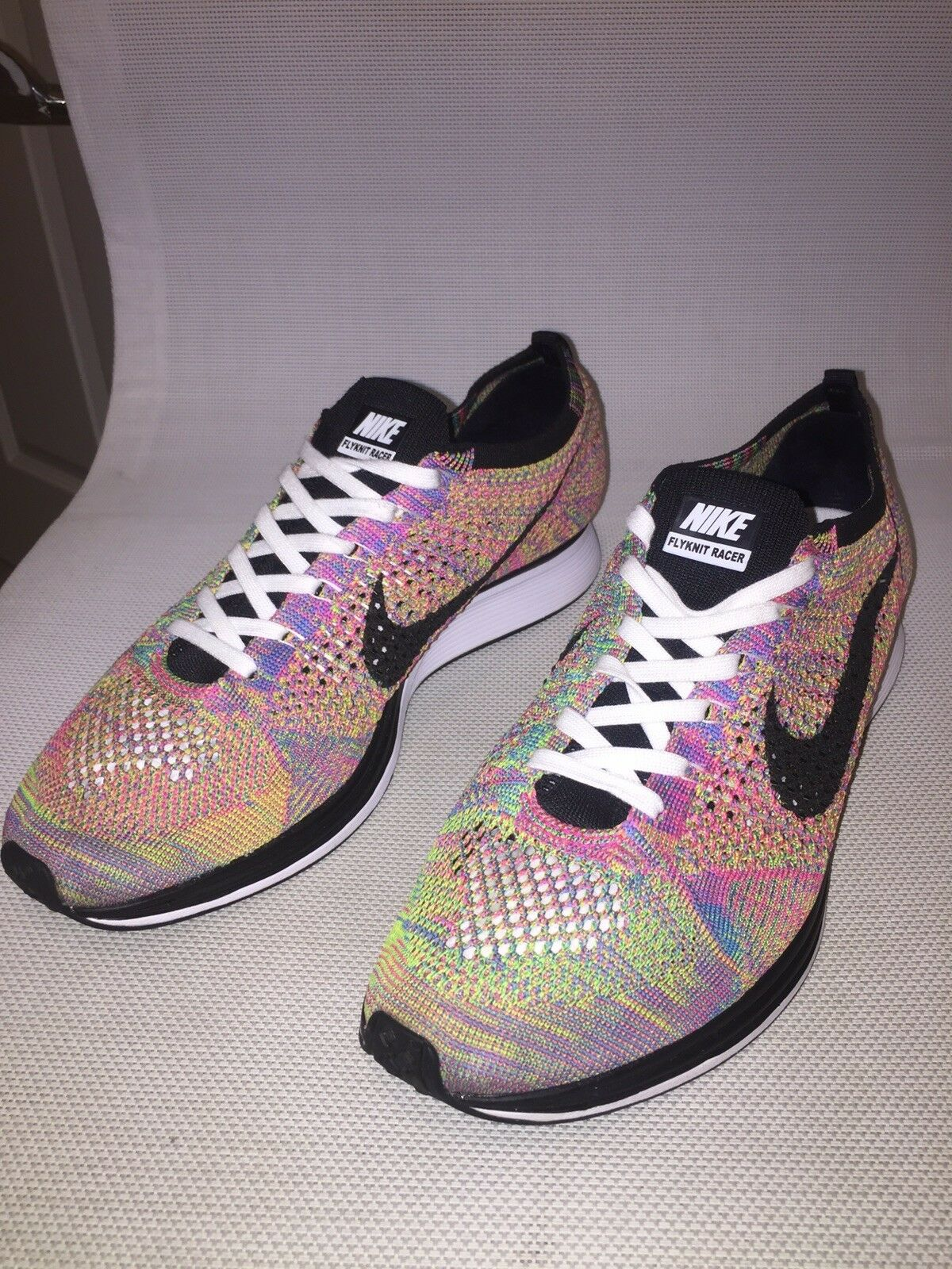 Nike UK Flyknit Racer SP Milan Special Edition US 10.5 UK Nike 9.5 624194 004 2669e4