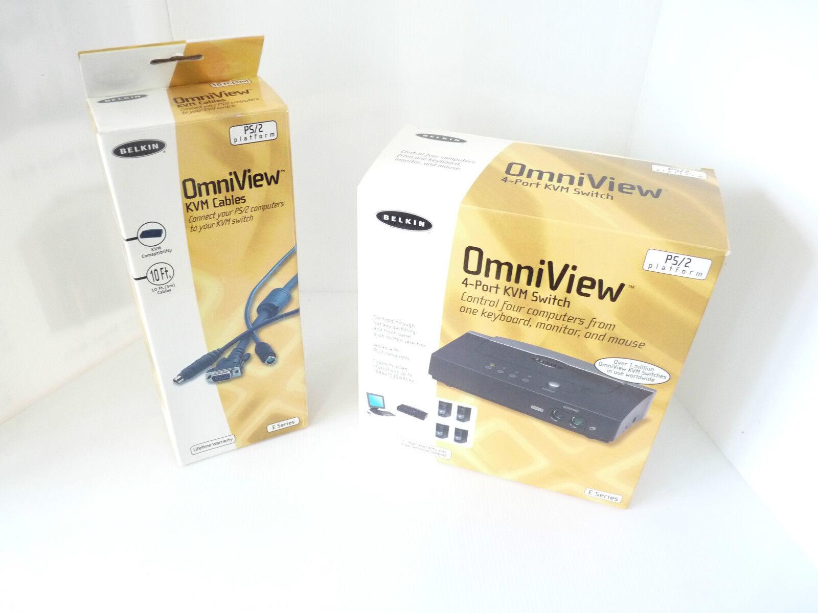 Belkin Omniview 4 port KVM switch