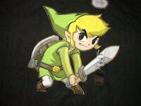 Legend Of Zelda Link Video Game T Shirt Sz Xxl Nintendo Nes Snes Rpg