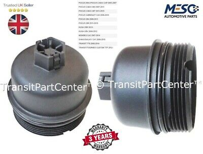Transit Parts New Oil Filter Cooler Bottom Screw Cap Bowl Fiesta Fusion 1.4 1.6 2001 On