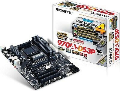 Gigabyte 970A-DS3P - ATX Motherboard for AMD Socket AM3+ CPUs