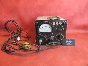 Details about Winslow Tele Tronics Inc AN/USM-116A Multimeter 105/125V PN  6625-00-017-898