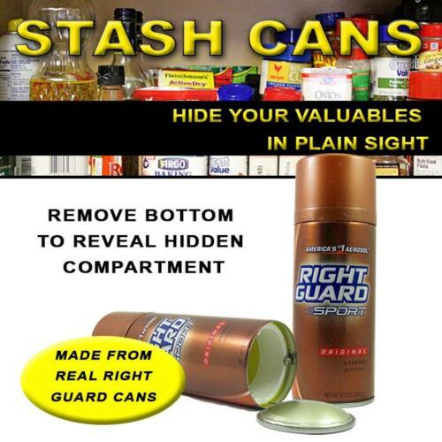 STASH CAN DEODORANT DIVERSION SAFE HIDDEN HIDE MONEY JEWELRY CASH SAFES MONEY