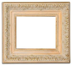 "3"" Wide ANTIQUE ORNATE STYLE GOLD LEAF WOOD FRAME FOR PHOTO PICTURE ART PAINTING"