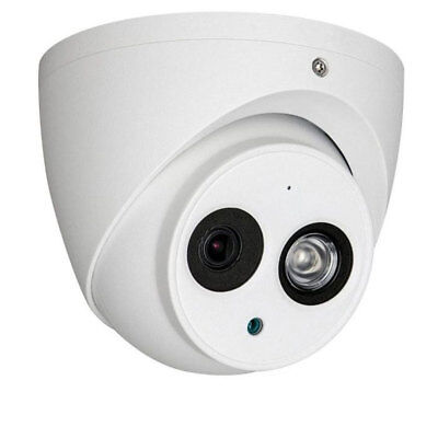 4 Megapixel Network IP Turret Dome Camera 2.8mm WDR Security Camera POE Audio