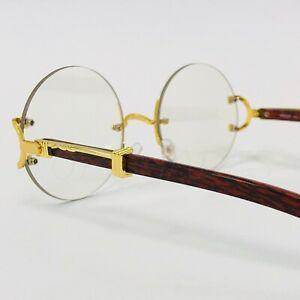 estilo moderno vendido en todo el mundo llegando Details about Gafas de Sol Lentes Transparente Sin Marco Dorado Redondo  Migos Hip Hop Glasses