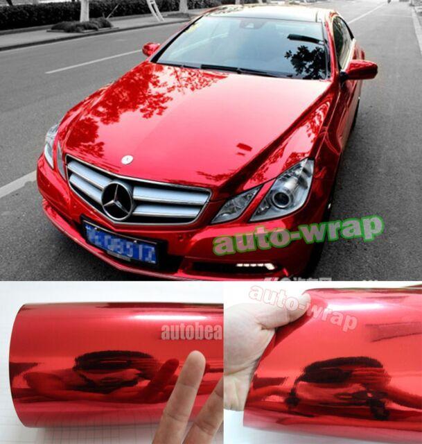 Optional ALL - Car Wrap 3D 4D 5D Carbon Fiber Glossy Mirror Chrome Vinyl Sticker