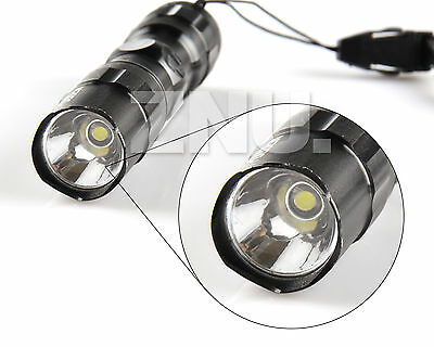 3W 300LM Mini CREE LED Waterproof Flashlight Torch Handy Light Lamp Outdoor Use