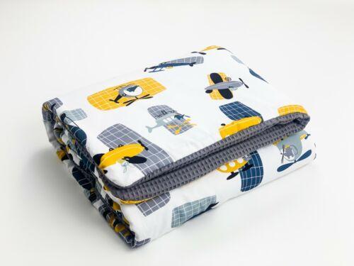 BABEES Kuscheldecke 75x100 cm Waffelstoff,100/% Baumwolle Baby Decke ganzjärig