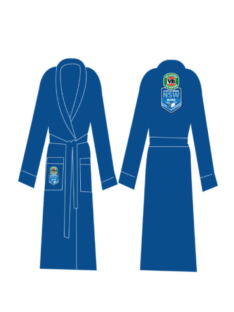BRAND NEW Licensed NRL NSW New South Wales State of Origin Dressing Gown Gift
