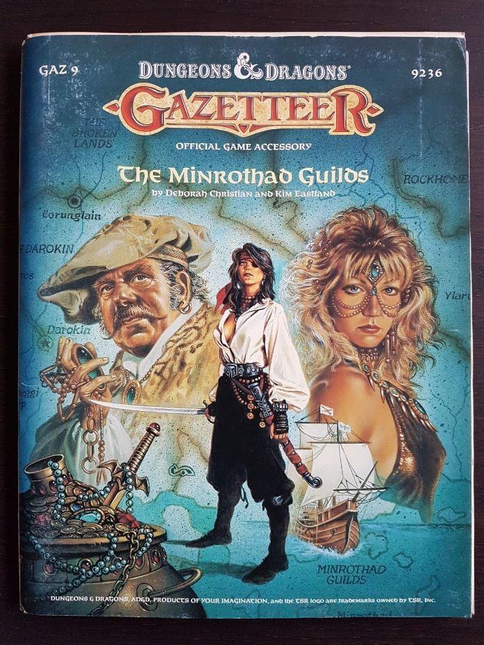 Dungeons & Dragons GAZ 9 The Minrossohad Guilds  9236  vendita online sconto prezzo basso