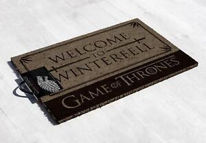 Game-of-Thrones-Fussmatte-Welcome-to-Winterfell-Kokosfaser-Fussabtreter-60x40-cm