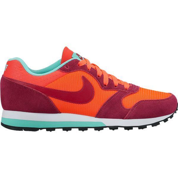 Nike MD Runner rot orange Größe 35 Fitness 36 Damen Kinder Freizeit Fitness 35 RETRO 289434