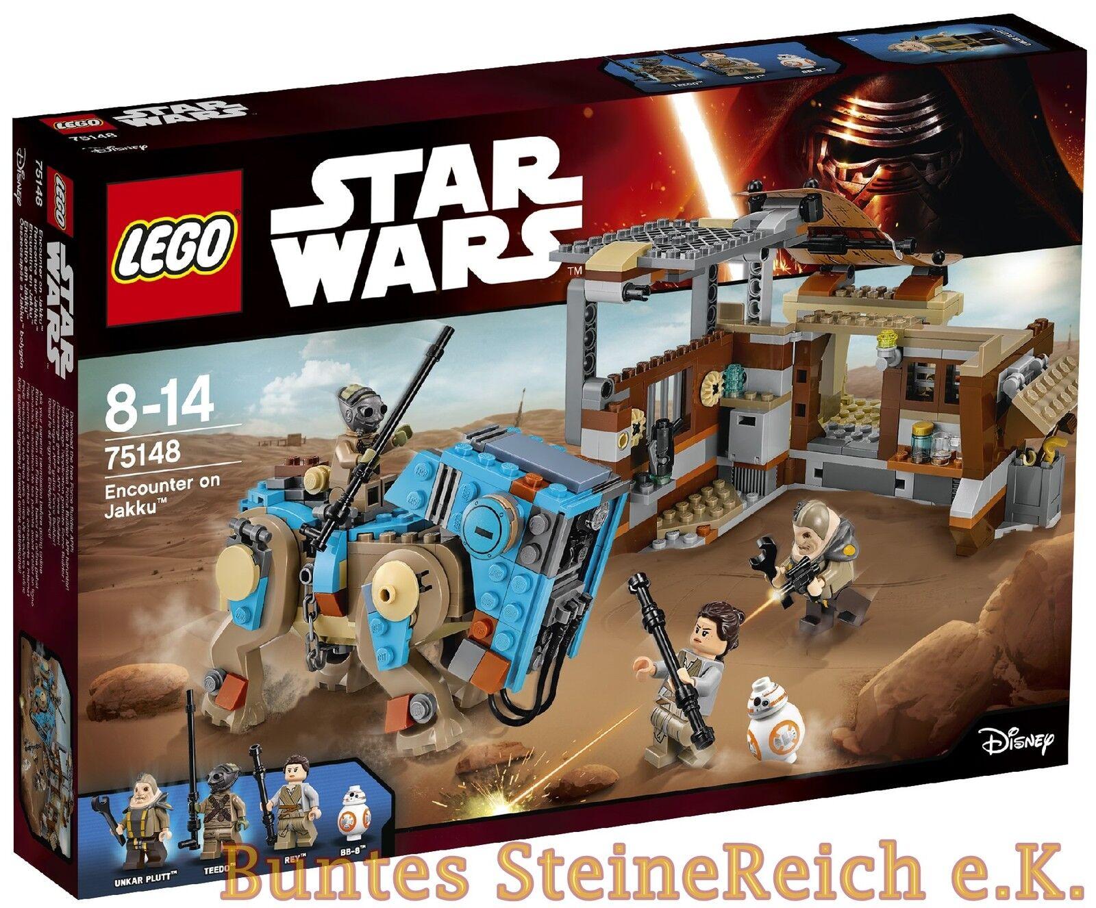LEGO ® Star Wars ™  75148 Encounter on Jakku ™ & 0. - Expédition  NOUVEAU & NEUF dans sa boîte
