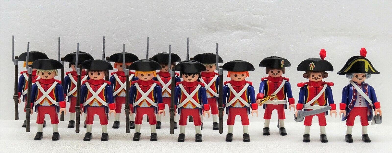 13 Francese  Soldati Playmobil per Prossoezione Set Super 2 - Napoleone Cinghia  con il 100% di qualità e il 100% di servizio