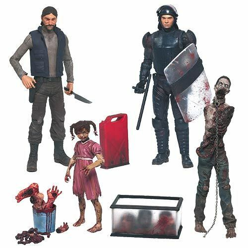 WALKING DEAD COMIC series 2 action figure setMcFarlaneGovernorGlennMOSC