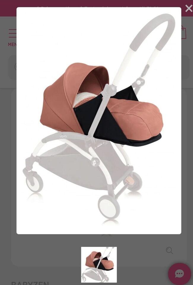 Babyindsats, Newborn pack, Yoyo Babyzen