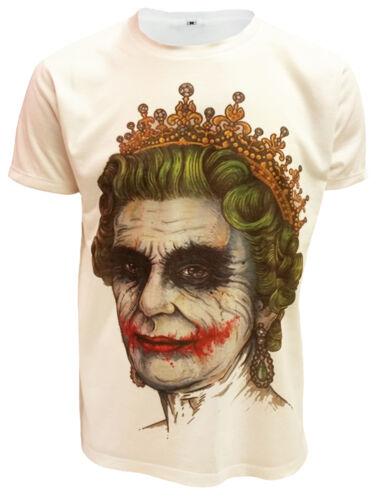 Banksy Sublimazione Stampa Sul Davanti T-Shirt FUNNY Tee Graffiti Arte Joker unisex alto