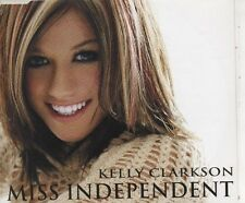 KELLY CLARKSON Miss Independent 3 TRACK CD NEW - NOT SEALED