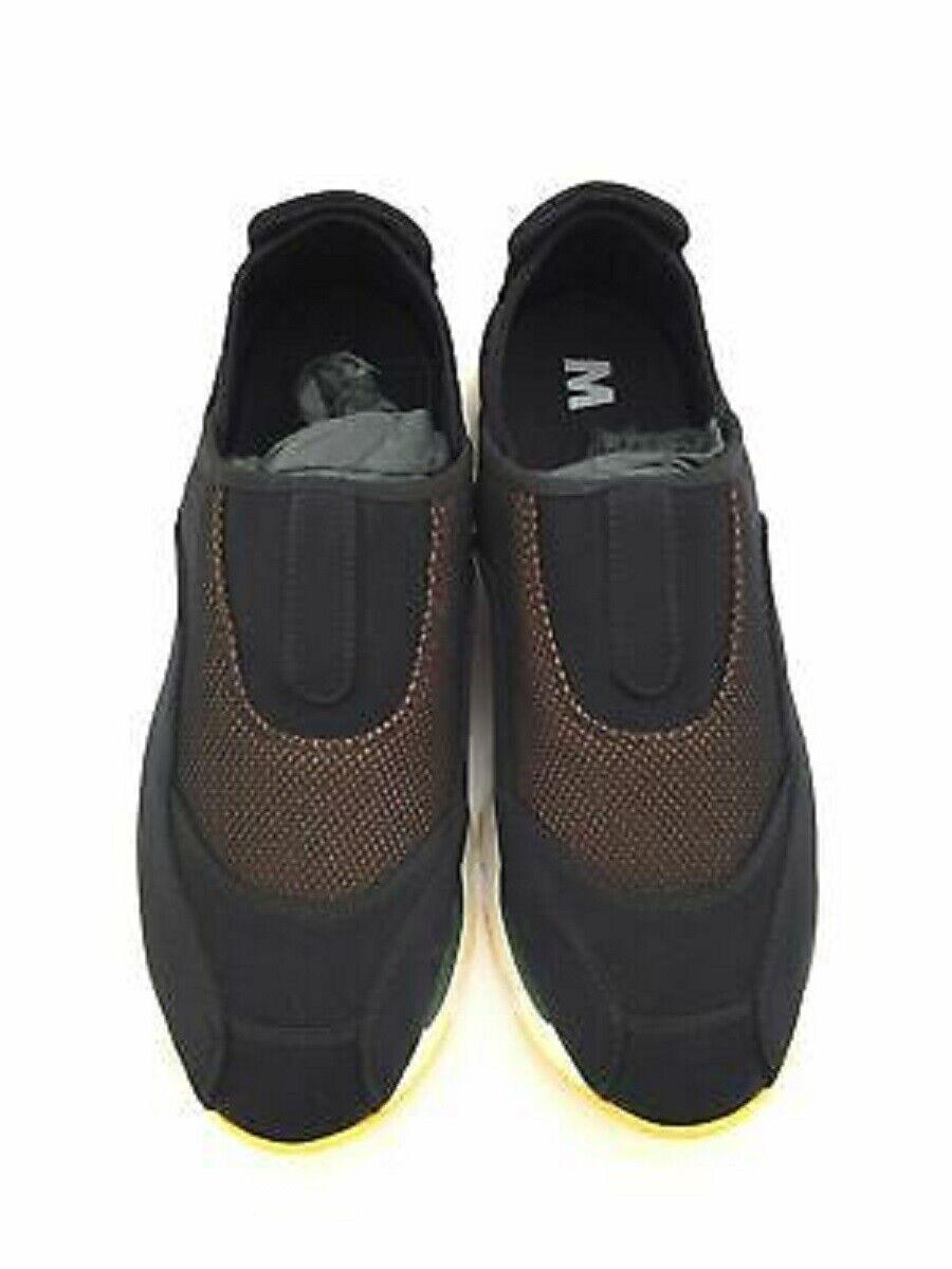 MARNI Negro Resbalón en Zapatillas Tamaño 39 Nen o 41 para mujer de nuevo y en caja  650