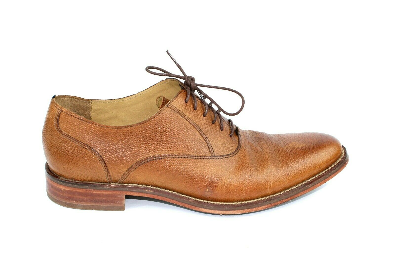 Cole Haan Grand OS Madison Plain Toe Marronee Leather Oxfords C13535 Mens US 10.5 M
