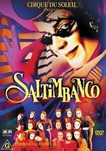Cirque-Du-Soleil-Presents-Saltimbanco-DVD-2004-Region-4-Rare-Brand-New-In-Pla