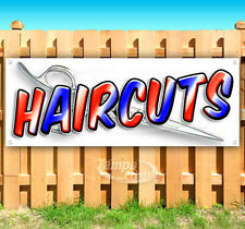 Hair Cuts Advertising Vinyl Banner Flag Sign Many Sizes Available Usa Barber