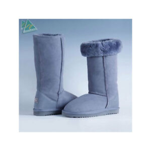 7636cc1ece1 Details about Genuine HAND-MADE Australia SHEARERS UGG Boots Wool Sheepskin  Classic Tall Boots