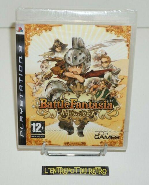 ++ jeu playstation 3 PS3 battle fantasia NEUF sous blister +