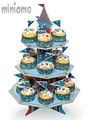 3 Piani Castello Medievale Cupcake Stand Kit Cibo Festa Decorazione Display Stand- Vuoi Comprare Alcuni Prodotti Nativi Cinesi?