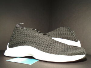 3a6128833557 2002 NIKE AIR WOVEN BOOT HTM CHUKKA FOOTSCAPE BLACK IVORY WHITE ...