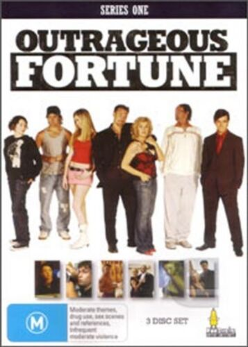 Outrageous Fortune Series 1 , 2016, 3Disc Set