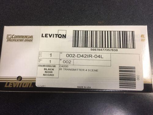 IR TRANSMITTER 4 SCENE Leviton D42IR-04L