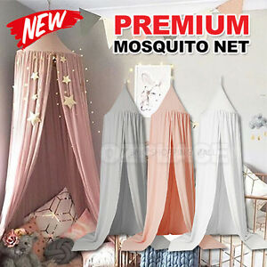 Kids-Baby-Bed-Canopy-Bedcover-Mosquito-Net-Curtain-Bedding-Round-Dome-Tent