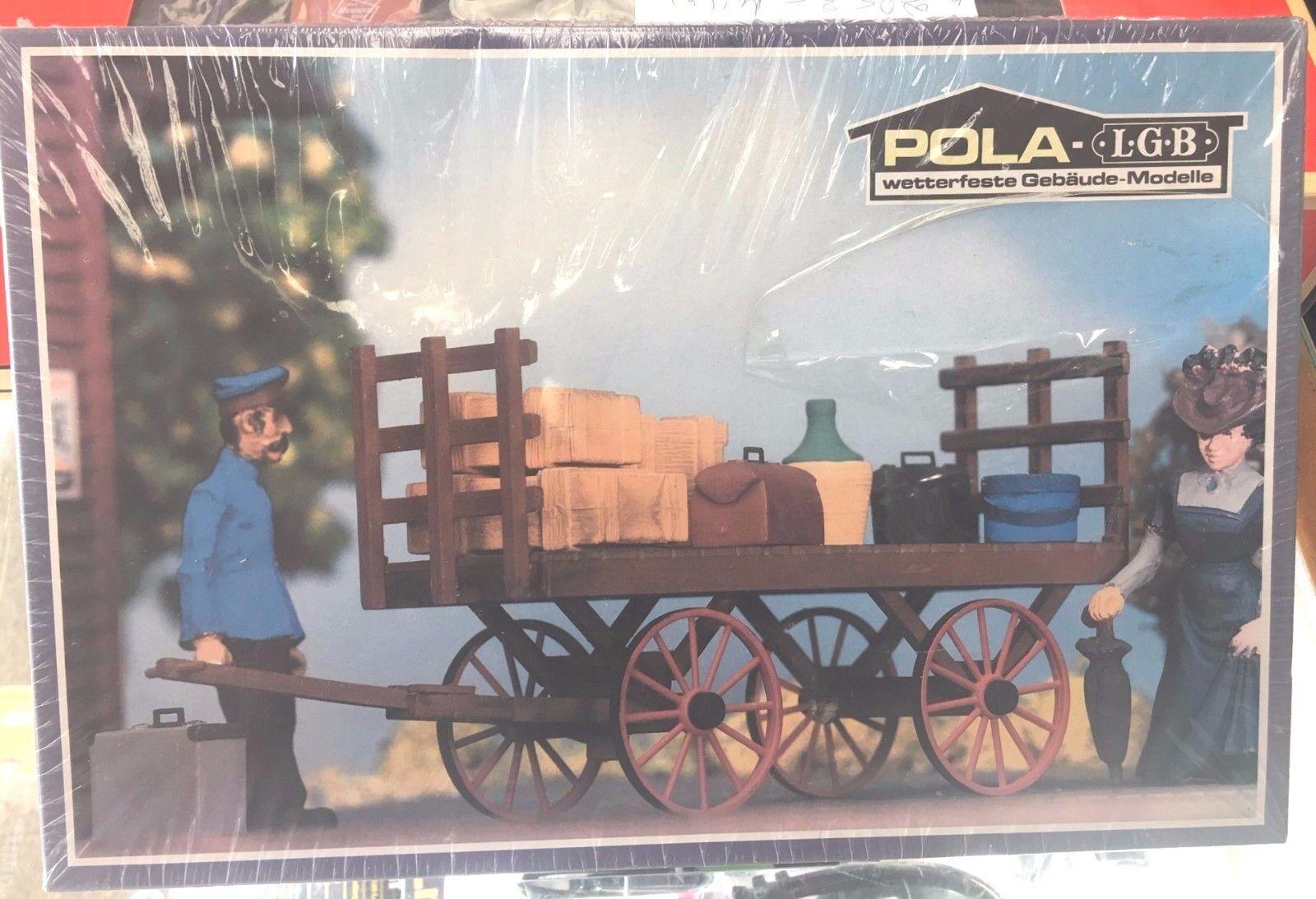 POLA LBB 963 BAGGAGAGE bilT, tillverkad i TYSKLAND - NY