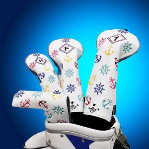 Golf Covers Set Driver Fairway Ut Headcover Set For