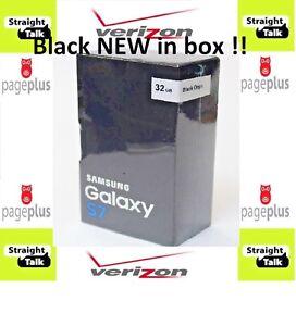 Samsung-Galaxy-S7-SM-G930V-Black-32GB-Page-Plus-STRAIGHT-TALK-Verizon-4G-LTE