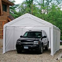 Shelterlogic™ Canopy Enclosure Kit - 12 X 20 Ft., White on sale