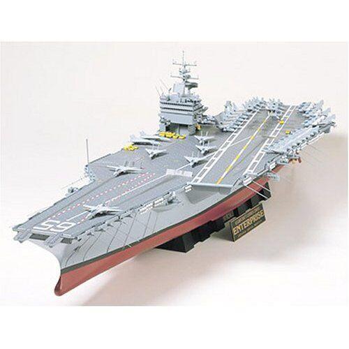 Tamiya 1 350 U.S. Aircraft Carrier CVN 65 Enterprise Model Kit 78007