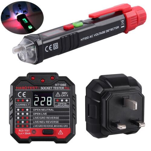Digital Non-contact Voltage Tester Pen Socket TESTER Electrical Testing Kit