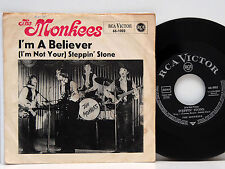 """The Monkees      I´m a believer   /   Steppin´stone        7 """"     VG # A"""