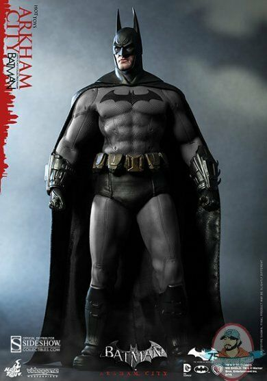 1 6 Scale Batman Arkham City VGM Series Figure by Hot Toys