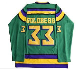 5deb5e56f Image is loading The-Mighty-Ducks-Greg-Goldberg-Retro-Hockey-Jersey-
