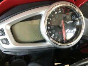 TRIUMPH-Tiger-Sport-1050-Cromo-Dial-Calibre-Anillos-Pulido-Aleacion-x1-rodea