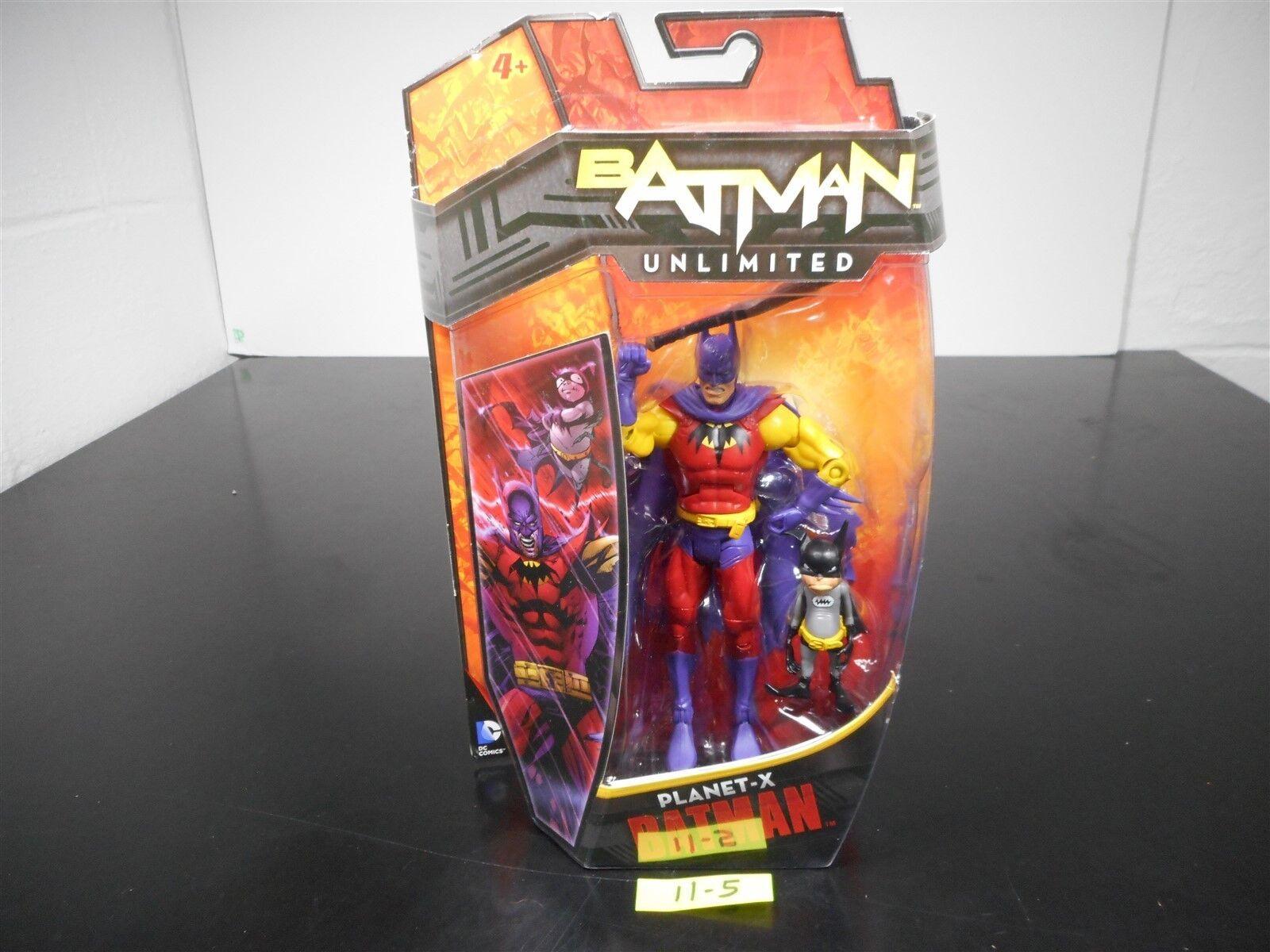NEW & SEALED    BATMAN UNLIMITED PLANET-X BATMAN ACTION FIGURE DC COMICS 11-5