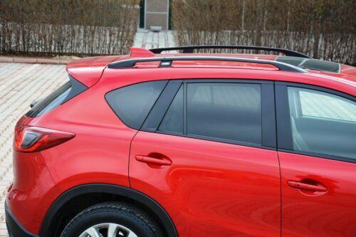 Mazda CX5 Baujahr 2011 bis 2017 Aluminium Dachreling in Schwarz mit TÜV und ABE