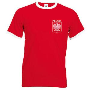 T-shirt Femme Pologne Coupe du Monde de Football 2018