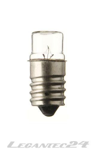 Glühlampe 130V 2,6W E14 14x30mm Glühbirne Lampe Birne 130Volt 2,6Watt neu