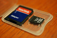 8gb Micro Sd Microsdhc W Sd Minisd Adapter Class 4 C4 For Svp Aqua 5800
