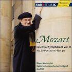 """Mozart: Symphonies Nos. 8 & 40; Symphony after the """"Posthorn"""" Serenade (CD, Jan-2008, Haenssler)"""